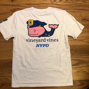 RARE Vineyard Vines NYPD T Shirt